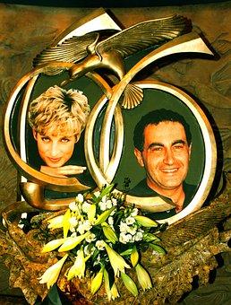 Diana, Memorial Stone, Memory, Personalities
