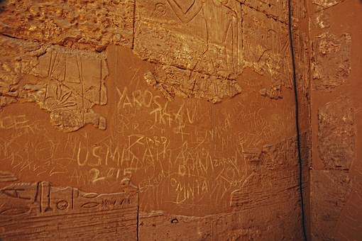 Luxor, Wall, Description, Temple, Egypt, Carved Wall
