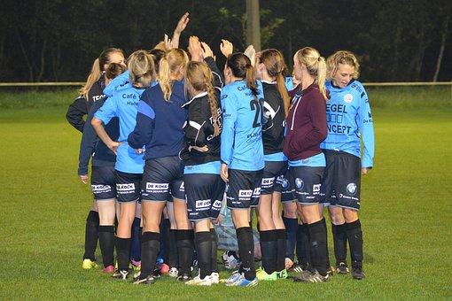 Team Sport, Women, People, Football, Group