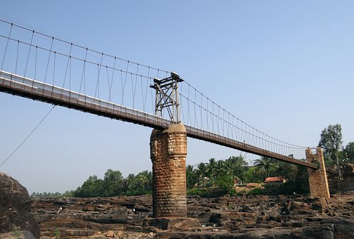 Hanging Bridge, Bridge, Suspension Bridge