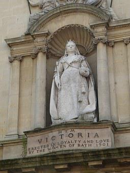 Bath, England, Historically, Monument, Queen, Victoria