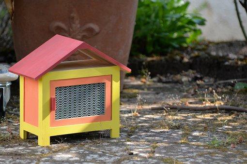 Rabbit Hutch, Home, Easter, Cottage, Garden Shed, Deco