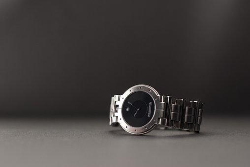 Black Face Watch, Designer, Fashion, Metal, Modern