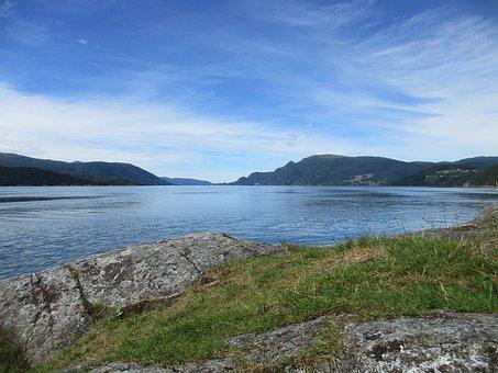 Fjord, Fjord Landscape, Norwegian Landscape, Mountain