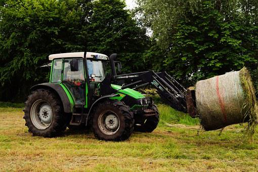 Tractors, Front Loader, Hay, Collect Bales, Pet Food