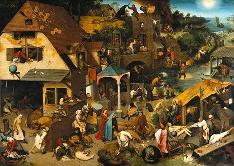 Oil Painting, Pieter Bruegel Of The Elder, 1559