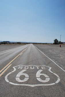 Usa, Route 66, Endless, Highway, Freedom, Road Trip