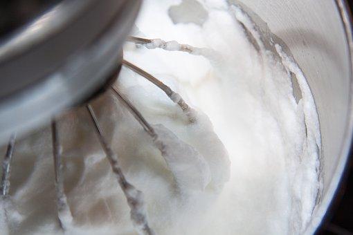 Egg White Snow, Egg Whites, Whipped Cream, Stir, Foam