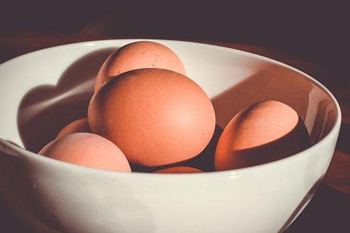 Bowl, Eggs, Food, Sunshine