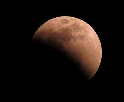 Eclipse, Moon, Sky, Astronomy, Lunar, Universe