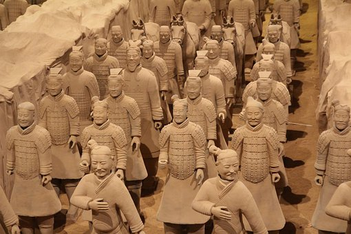 Terracotta, Army, Warrior, Sound, Figures