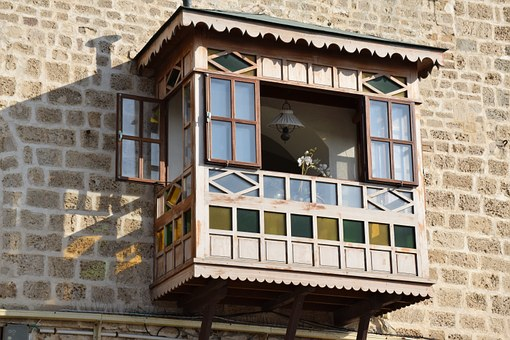 Ledge, Window, Wall, Old, Building, House, Frame