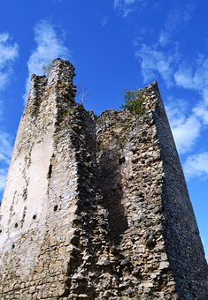 Tower, Ruin, Castle, Old, Fortress, Building
