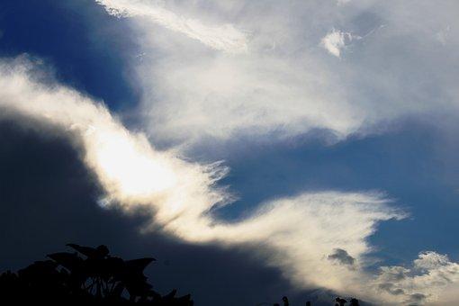 Cloud, Streak, Ridge, White, Bright, Shiny, Velvety