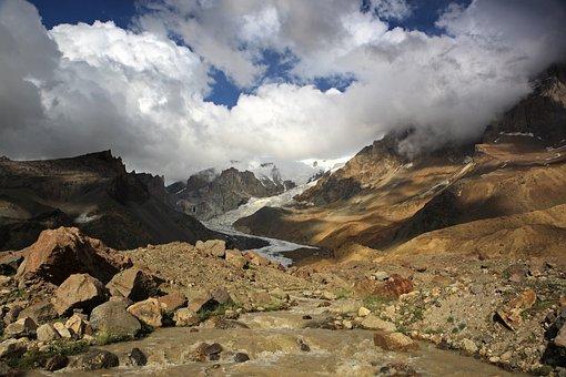 Elbrus, Mountain, Clouds, Height, Mountaineering, Snow