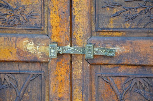 Lock, Etching, Antiquity, Door, Old Sense, Symbol