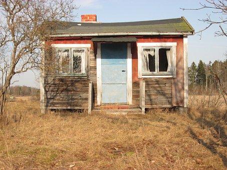 Badgers, Cottage, Destiny, Abandoned, Haunted House