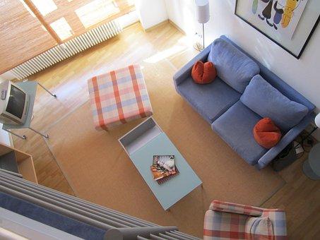 Apartment, Interior, Indoor, Furniture, Leipzig