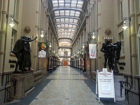 Leipzig, Passage, Auerbach's Cellar, Interior