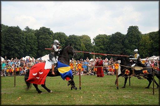 Spectacular Knight, Knights, Horses, Lances