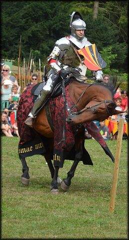 Spectacular Knight, Knights, Horses, Lances