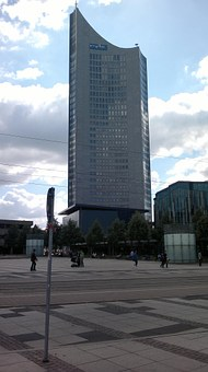 Mdr Tower, Leipzig, Tower, Space