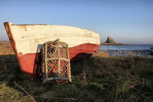 Boat, Crab Pot, Fishing, Sea, Lobster, Ocean, Harbor