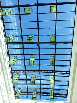 Architecture, Glass Roof, Passage, Market Passage
