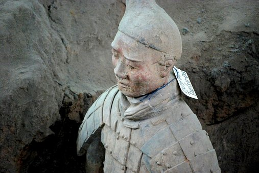 Terracotta Warriors, Army, Ancient, Military, Buried