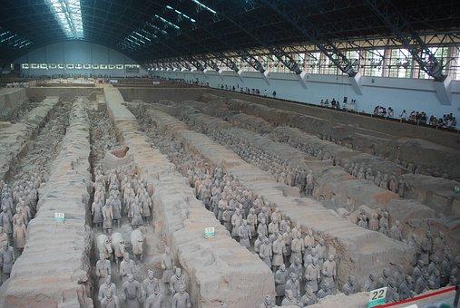 Terracotta, Warriors, Warrior, Soldier, Army, Military