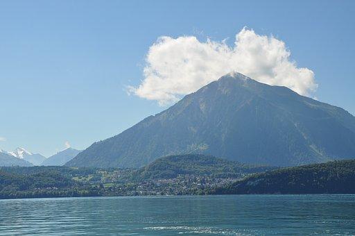 Mountain, Lake, To Sneeze, Nature, Tuner Lake