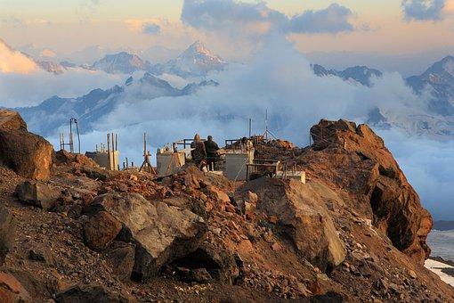 Elbus, Height, Mountain, Top, Landscape, Mountains