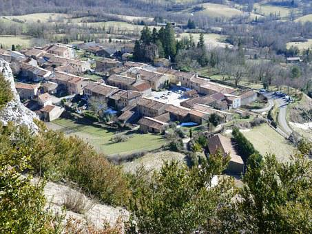 Village, Ariege, France, Cathar Country, Occitan