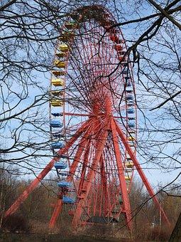 Ferris Wheel, Old, Berlin, Plänterwald