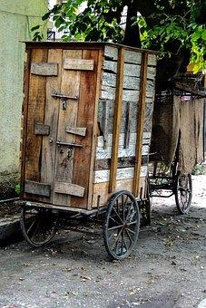 Kiosk, Mobile, Portable, Movable, Rickshaw, Cart