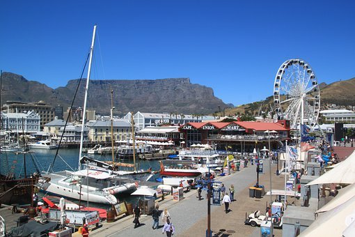 Cape Town, South Africa, Beach, Table Mountain