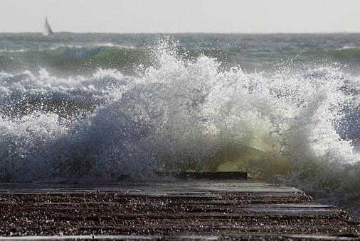 Sea, Wave, Swell, Web, Spray, Restless, Ocean, Beach