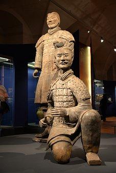 Terracotta, Warriors, Statue, China