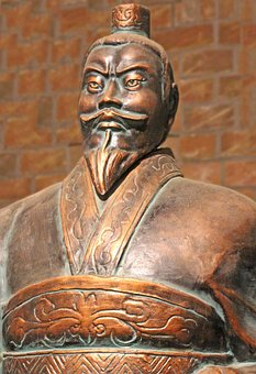 Japan, Warrior, Terracotta, Army, Emperor, Fig, Old