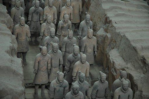 China, Terracotta Warriors, Travel