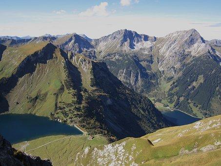 Austria, Mountains, Mountain, Landscape, View, Rock