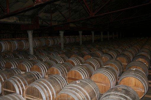 Stock, Barrels, Cognac, Barrel, Storage