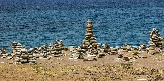 Cyprus, Akamas, National Park, Stones, Beach, Nature