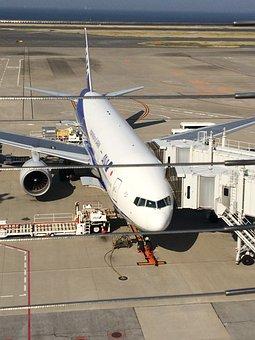 Airport, Airplane, Boarding, Haneda