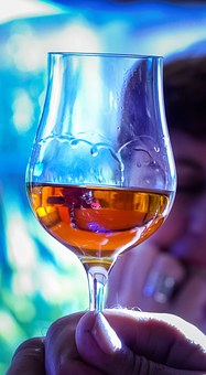 Glass, Cognac, Tasting, Wine