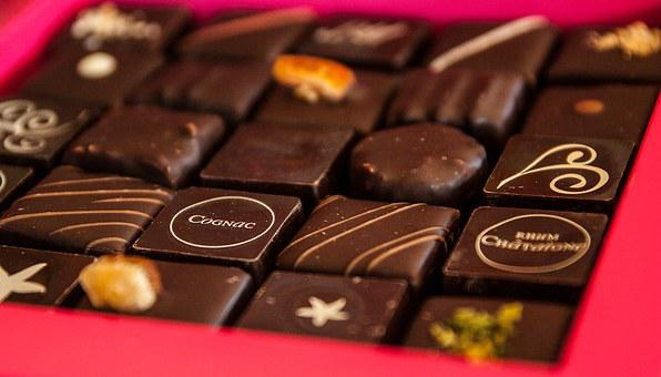 Chocolate, Confectionery, Sweets, Cognac
