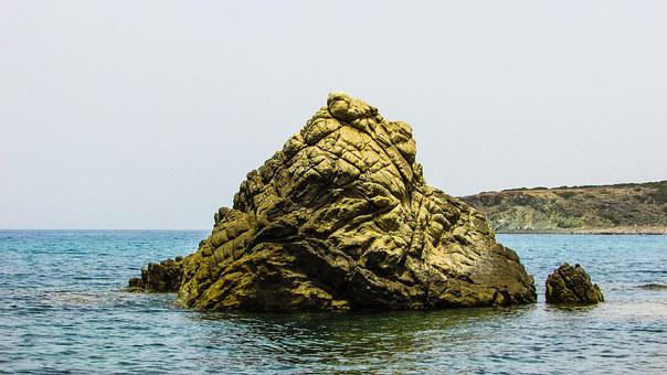 Cyprus, Akamas, National Park, Rock, Beach, Nature, Sea