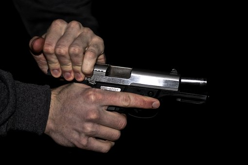 Gun, Reload, Weapon, Shoot, Firing, Cartridge