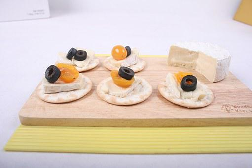 Cheese, Canapés, Food