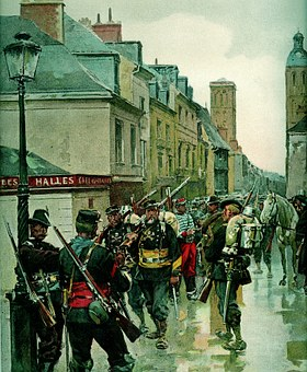 Franco-prussian War, Tours, Army Of The Loire, Mobile